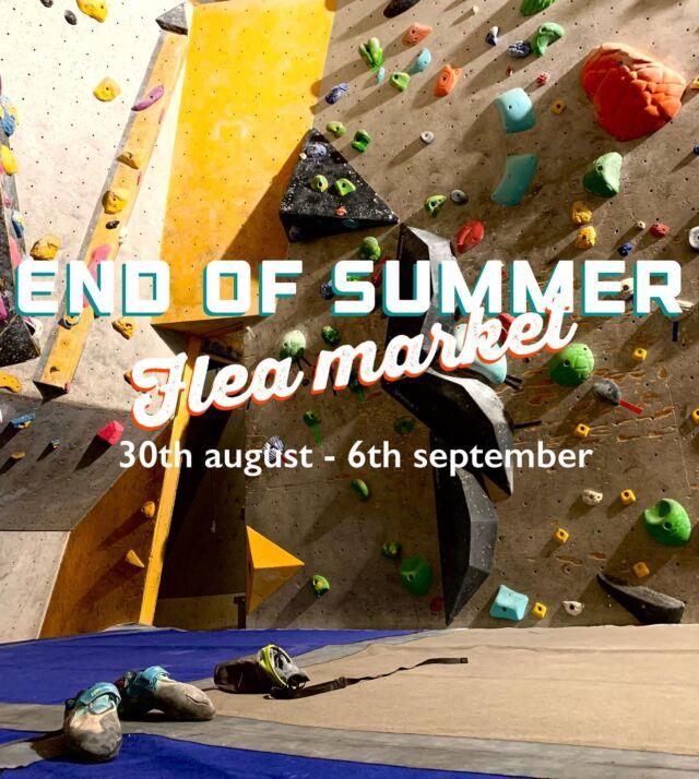 ❣️ Reminder ❣️ 30e Augusti till 6e september har vi loppis på Karbin. Du kan komma redan nu och lämna in dina medverkande ägodelar. komplettera med ett nummer att swisha betalning till och ett pris!  ✋🛑Vi kommer inte ta emot säkerhetsutrustning för klättring på denna loppis🛑✋  Vi ses! / Team Karbin